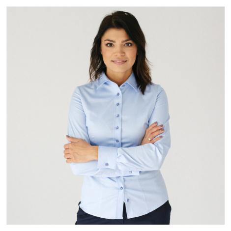 Dámská košile Willsoor 7683 v modré barvě