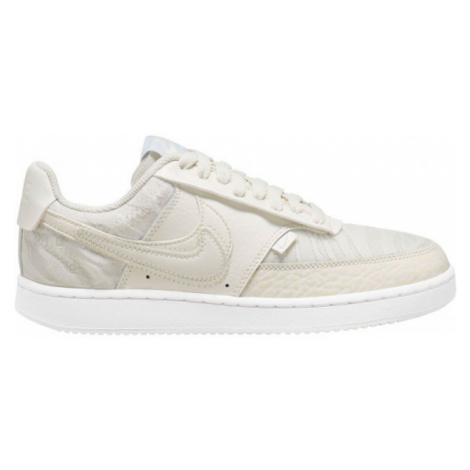 Nike VISION LOW PREMIUM béžová - Dámská volnočasová obuv