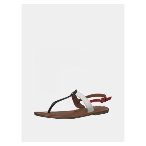Tamaris barevné kožené sandály