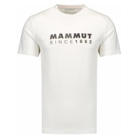 Tričko Mammut TROVAT bílá