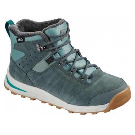 Salomon UTILITY TS CSWP J modrá - Dětská zimní obuv