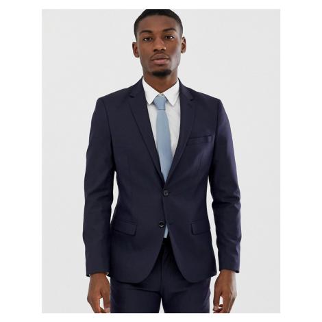 Celio slim fit suit jacket in navy
