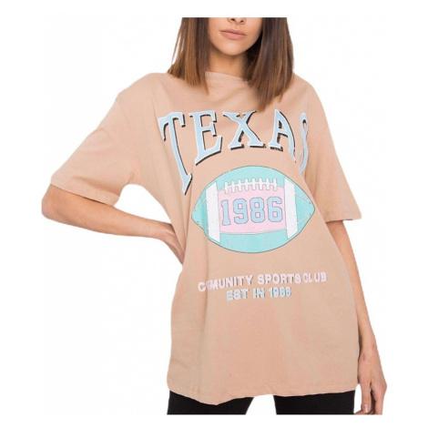 Béžové tričko texas