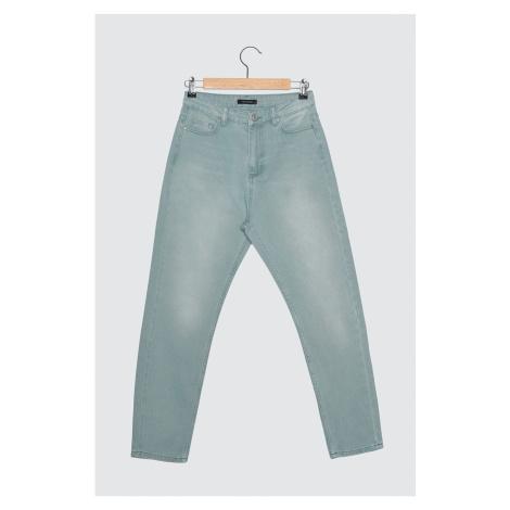 Trendyol Mint High Waist Mom Jeans
