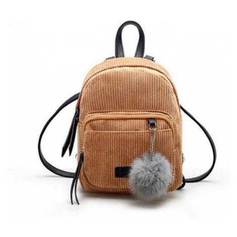 Dámský manšestrový batoh E930 FashionEU
