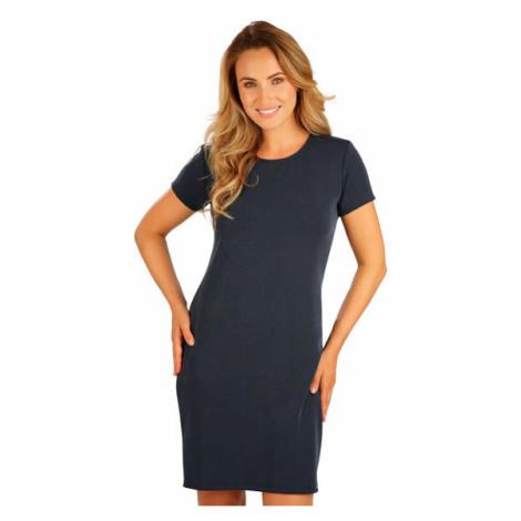 Dámské šaty s krátkým rukávem Litex 5B239 | tmavě modrá