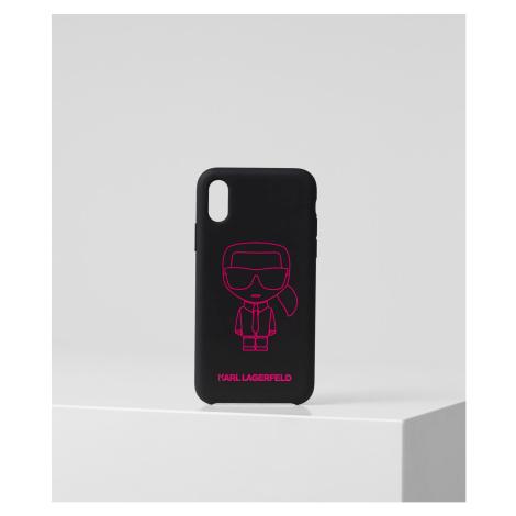 Obal Na Telefon Karl Lagerfeld K/Ikonik Pink Outline Xs