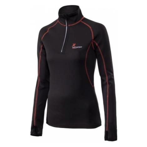 Dámský pulovr Klimatex DENISE Černá / Oranžová