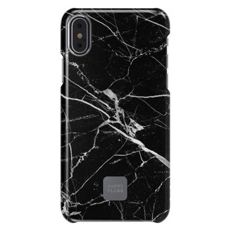 Ultratenký obal na iPhone 7/8 Plus – černý mramor Happy Plugs