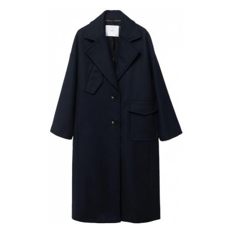 MANGO Přechodný kabát noční modrá