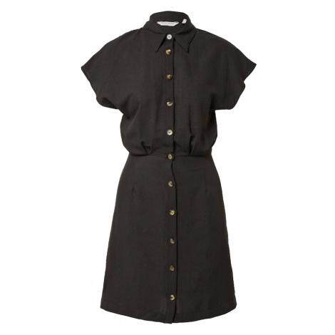 NAF NAF Košilové šaty 'FERRY' černá