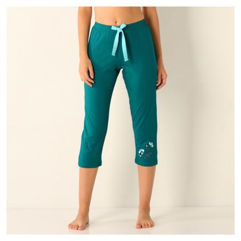Blancheporte 3/4 pyžamové kalhoty, žerzej zelená