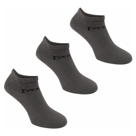 Everlast 3 Pack Trainer Socks Mens Pánské ponožky 3 páry 41130802