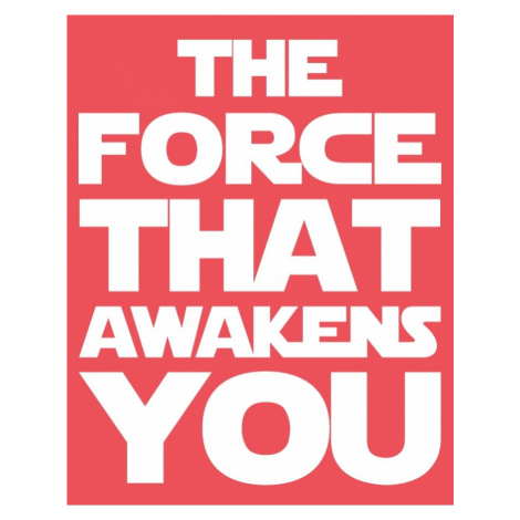 Dětské body Star Wars - THE FORCE THAT AWAKENS YOU BezvaTriko