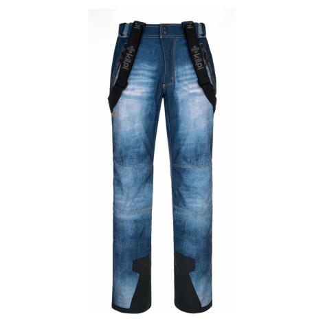 KILPI Pánské lyžařské kalhoty - větší velikosti JEANSO-M NMX034KIBLU Modrá