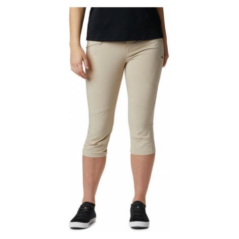 Columbia PEAK TO POINT KNEE PANT béžová - Dámské outdoorové 3/4 kalhoty
