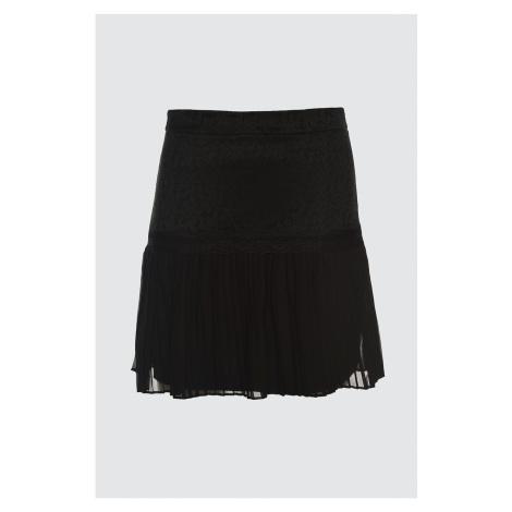 Trendyol Black High Waist Skirt