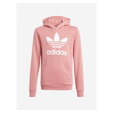 Trefoil Mikina dětská adidas Originals Růžová