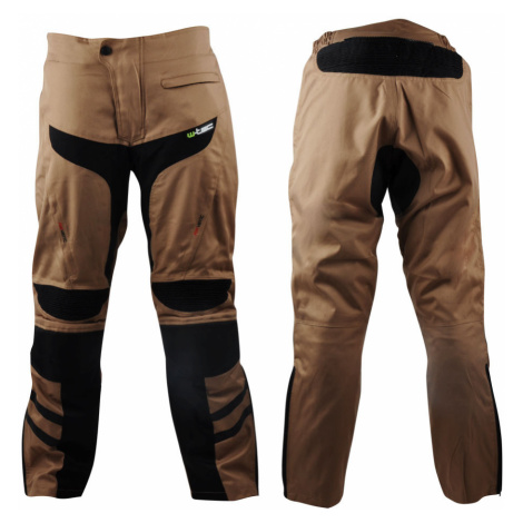 Pánské Moto Kalhoty W-Tec Kalahari Desert Sand