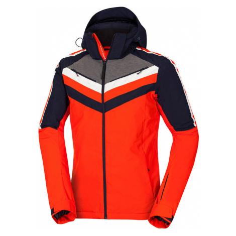 NORTHFINDER LENDSY Pánská lyžařská bunda BU-3798SNW432 orange