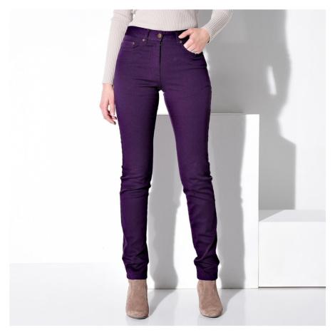 Kalhoty dlouhé lilková