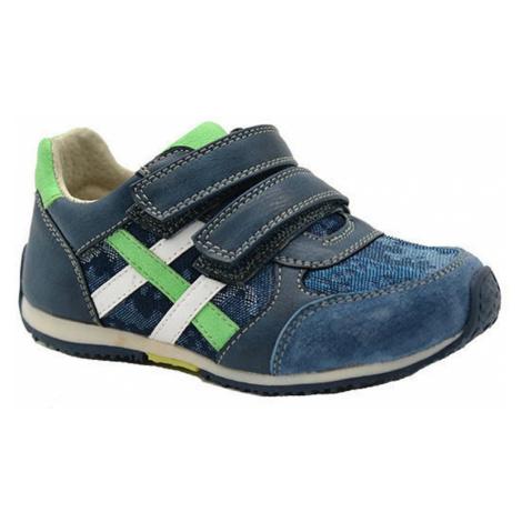 Modré chlapecké celoroční boty Kirsten Pidilidi