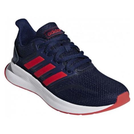 adidas RUNFALCON K tmavě modrá - Dětská běžecká obuv