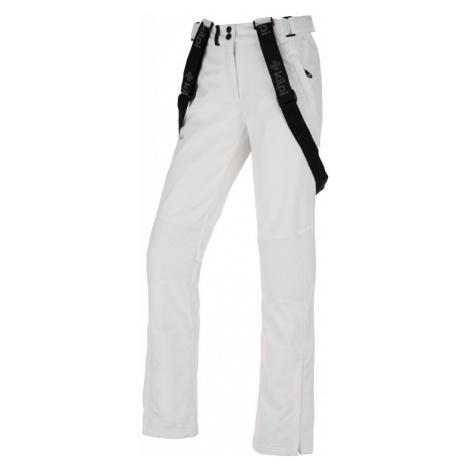KILPI Dámské softshellové kalhoty DIONE-W JL0013KIWHT Bílá