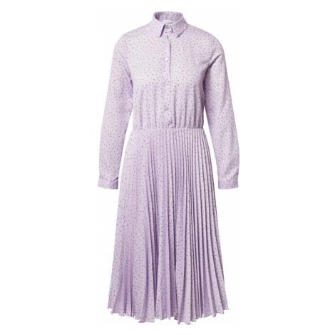Closet London Košilové šaty šeříková / černá