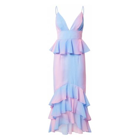 Chi Chi London Společenské šaty modrá / pink