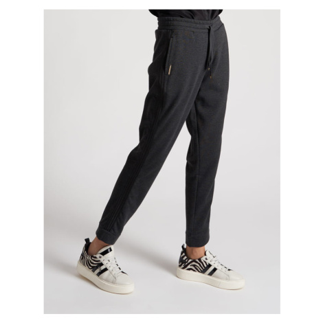 Kalhoty La Martina Woman Trousers Lurex Fleece - Černá