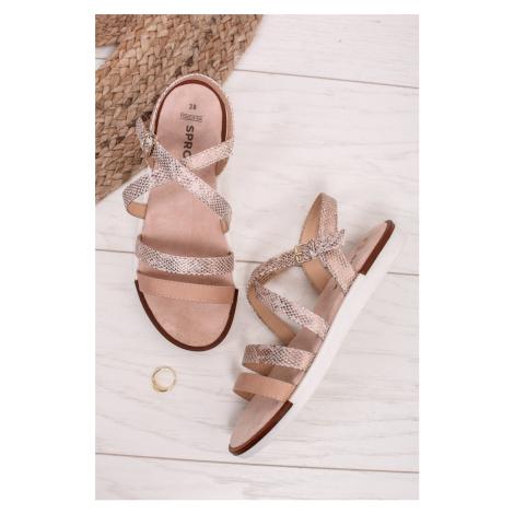 Béžové sandály Margaret SPROX