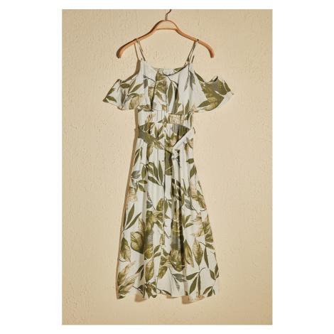 Dámské šaty Trendyol Floral Pattern