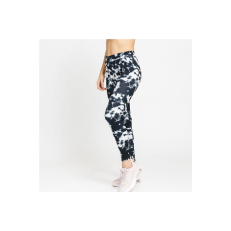 Urban Classics Ladies Tie Dye Leggings černé / bílé