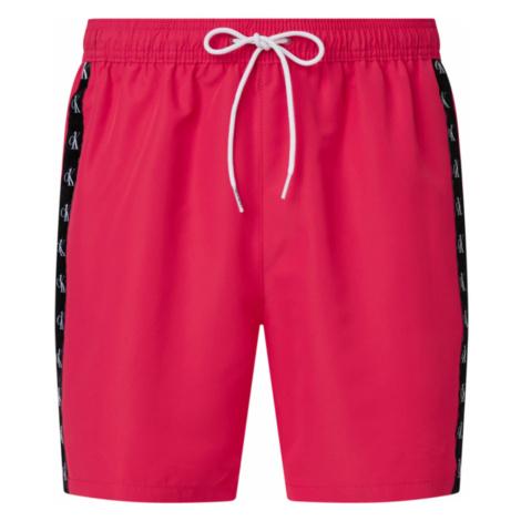 Calvin Klein pánské tmavě růžové plavky