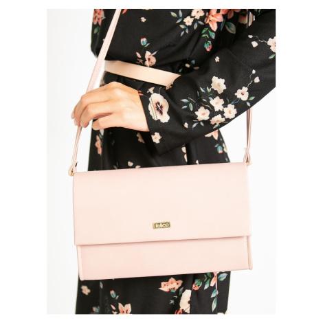 Dirty pink clutch bag