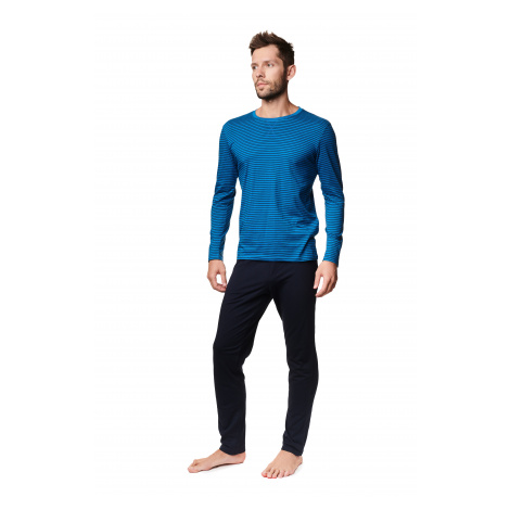 Pánské pyžamo Henderson 39233 MUSK LL Světle modrá