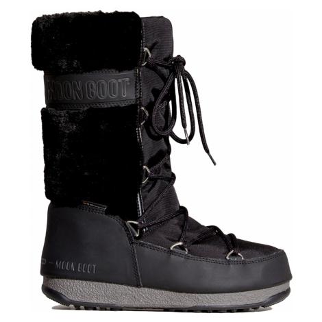 Sněhule Moon Boot MONACO FUR WP černá