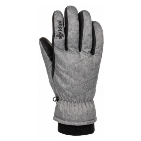 KILPI Unisex lyžařské rukavice TATA-U LU0009KILGY Šedá