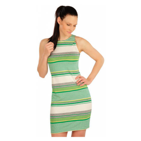 Dámské šaty bez rukávu Litex 5A418 | pruhy