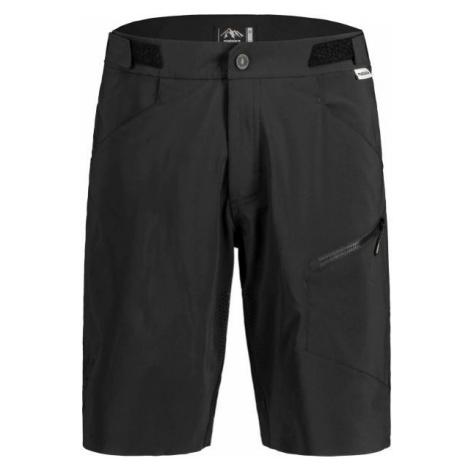 Maloja FUORNM černá - Pánské šortky na kolo