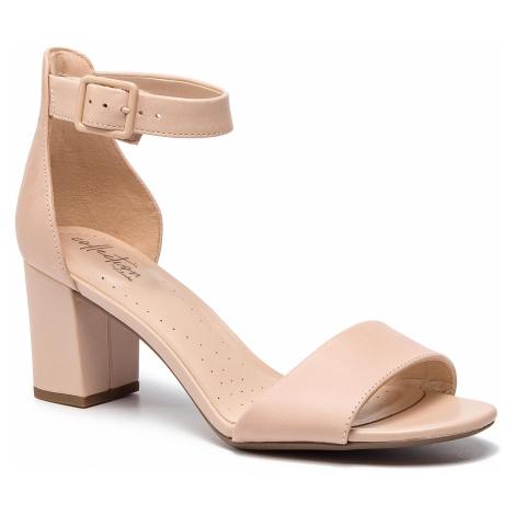 Sandály CLARKS - Deva Mae 261399394 Blush Leather