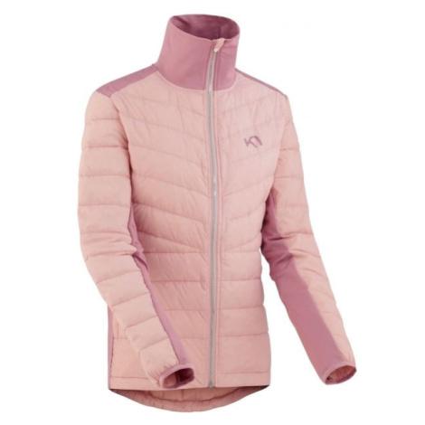 KARI TRAA EVA HYBRID růžová - Dámská zimní bunda