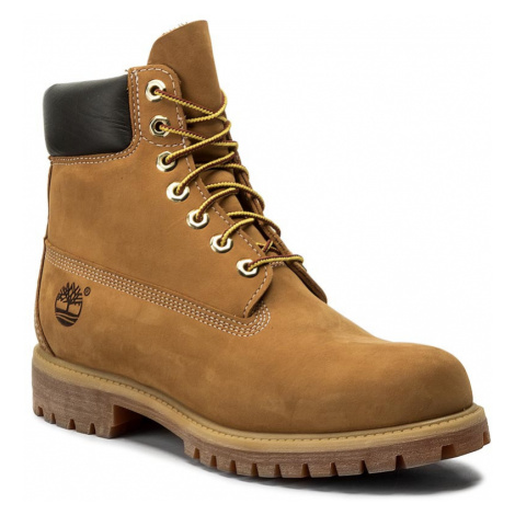 Turistická obuv TIMBERLAND - Premium 6 Inch Boot 10061/TB0100617131 Wheat Nubuck