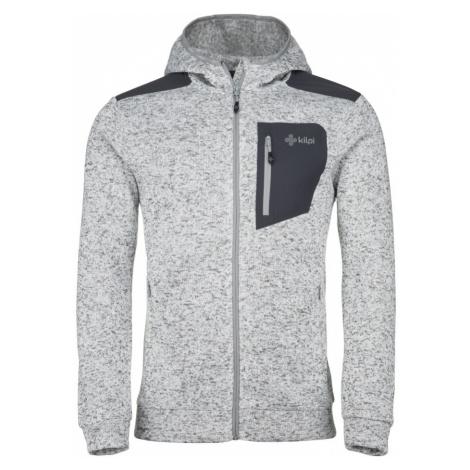 KILPI Pánský fleece svetr BANDAI-M JM0158KIWHT Bílá