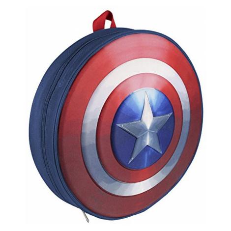 Cerda Dětský batoh Kapitán Amerika 3D