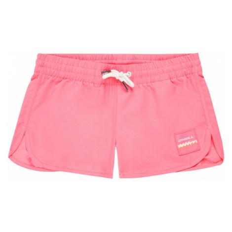 O'Neill PG SOLID BEACH SHORTS růžová - Dívčí šortky