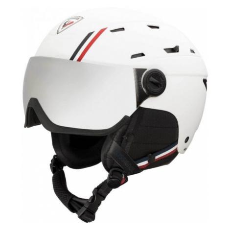 Rossignol ALLSPEED VISOR IMP STRATO bílá - Pánská lyžařská helma