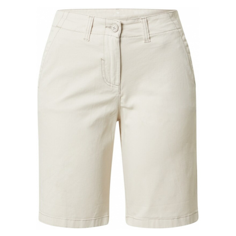 TOM TAILOR Chino kalhoty tělová / hnědá