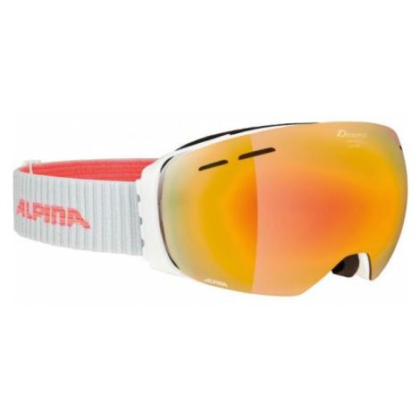 Alpina Sports GRANBY MM bílá - Unisex lyžařské brýle